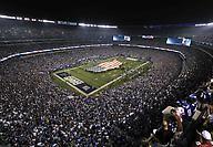Pletórico Metlife stadium recibió el partido inaugural de la temporada 2012 de la NFL. Los vaqueros de Dallas vencieron 24-17 a los Gigantes de NY