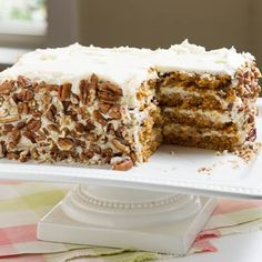 Cook's illustrated recipe for a layered carrot cake