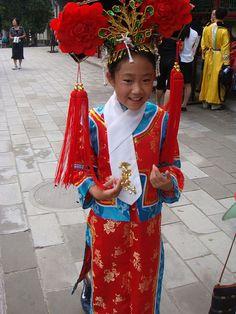 B/c I wore like the same custom in Beijing, China...  memories <3