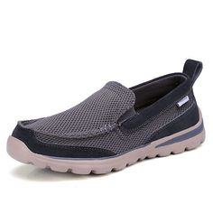 Men Slip On Breathable Mesh Soft Sole Flats Casual Sneakers  Worldwide delivery. Original best quality product for 70% of it's real price. Hurry up, buying it is extra profitable, because we have good production sources. 1 day products dispatch from warehouse. Fast & reliable shipment...