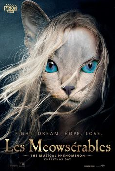 Oscar-Nominated Film Posters, With Animals   The Mary Sue: Les Miserables