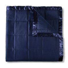 Elite Home Down Alt Microfiber Blanket - Navy (Blue) (Full/Queen)