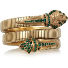 Emilio Pucci - Brass snake bracelet
