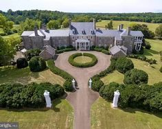 """Avery Frank on Instagram: """"This 26,000sf architectural beauty is for sale just 45 minutes from DC. Circa 1776, the home is built in stone and has breathtakingly…"""" Warrenton Virginia, Warrenton Va, Stone Mansion, Dream Mansion, Mansions For Sale, Plantation Homes, Expensive Houses, Big Houses, Manor Houses"""