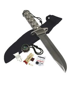 Look at this Hunting/Survival Knife on #zulily today!