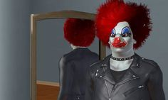 Evil Clown. The Sims 3 by Captain-Elinor on DeviantArt