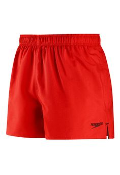 Speedo Women's Guard Endurance Lite Swim Short, Red, X Small