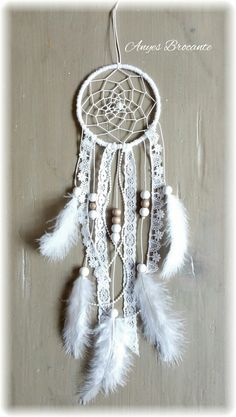 Dromenvanger Feather ♥ wit