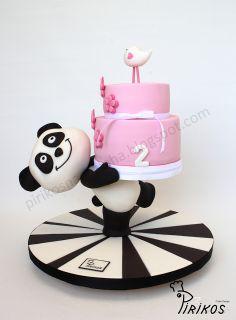 Panda topo bolo