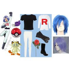 James team rocket cosplay by cosplay-er on Polyvore featuring Jil Sander, Miss Selfridge, The Row, Fahrenheit and Maison Fabre