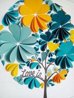 Pour changer de l'urne, un arbre à voeux... Superbe... ...