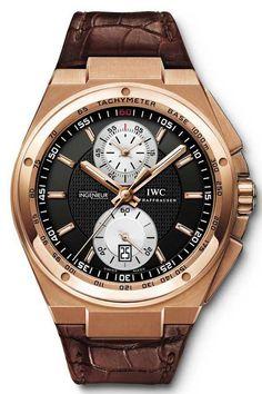 #IWC Big #Ingenieur Chronograph Rose Gold Watch