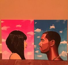 Nicki Minaj & Drake art