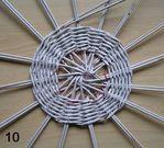 Мобильный LiveInternet Плетение из газет. Интересный вариант плетения для панно или крышки корзинки | Марриэтта - Вдохновлялочка  Марриэтты |