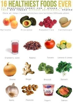 16 Healthiest Foods Ever health