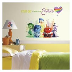 Inside Out Collection Fathead Wall Decal Wall Decals I Love - How do i put up a wall decal