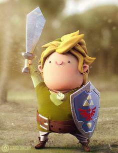Chubby Link ( Closeup ) by Capital---G.deviantart.com on @deviantART
