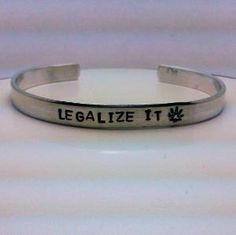 Legalize it...I'd wear it..