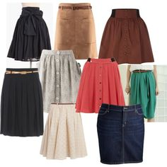 fall skirts..take some and leave some - Click image to find more Women's Fashion Pinterest pins