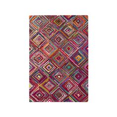 Fair and square, this is one rug you can't argue with. Bold colors, striking patterns and rich textures make it a place you'll want to walk on after a long, hard day at work.  Find the Fair and Square Rug, as seen in the Refined Bohemian Style Collection at http://dotandbo.com/collections/2015-trends-refined-bohemian-style?utm_source=pinterest&utm_medium=organic&db_sku=95074