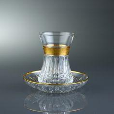 Paşabahçe 381-251 6'lı Çay Bardak Takımı Ezgi Serisi