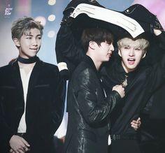 <3 Ken VIXX, Jin BTS, Rap Monster BTS