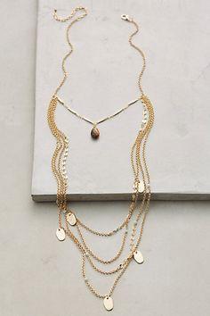 Dalida Layer Necklace #anthropologie