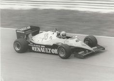 EUROPEAN BRANDS GP 1983 RENAULT RE40 ALAIN PROST ORIGINAL AUTOCOURSE PHOTOGRAPH