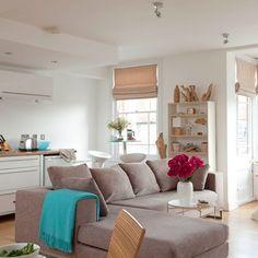 Open-plan living room