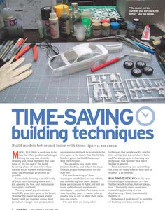 Experienced modeler Bob Downie shares his time-saving tips in this free download from Scale Auto.