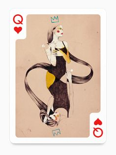 Playing Arts - Playing Cards Illustrations