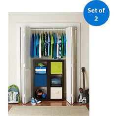$75.92 at walmart.com  Better Homes and Gardens 3-Cube Organizer, Set of 2, Multiple Colors