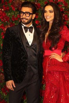 Deepika Ranveer, Ranveer Singh, Red Leather, Leather Jacket, Specs, Jackets, Fashion, Studded Leather Jacket, Down Jackets