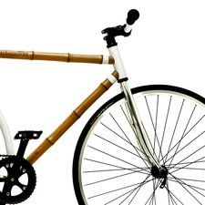 Bamboo Bicycle - Made of sustainable bamboo and built for city riding. Also, a stylish and practical #weddingregistry gift.