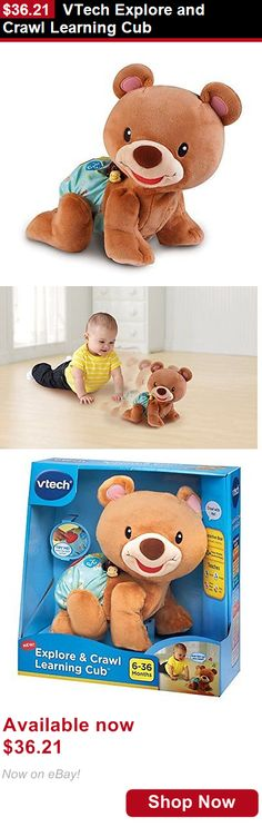 Developmental Baby Toys: Vtech Explore And Crawl Learning Cub BUY IT NOW ONLY: $36.21