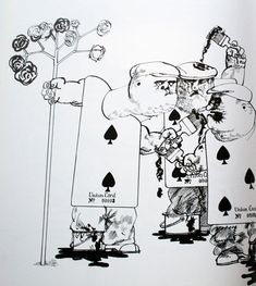 Ralph Steadman- Alice in Wonderland