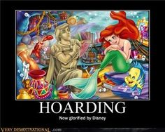 So funny. The other day I realized that Ariel had major issues but she's still my favorite Disney Princess.