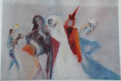 Bride's Run Artist: Margareta Sterian Style: Expressionism Genre: genre painting