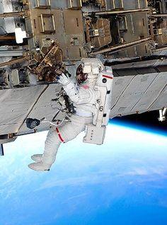 Space walk.