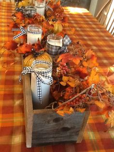 Diy barn wood center piece