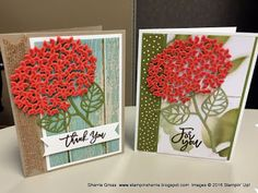 """Stampin Sunshine: August Pals Blog Hop - """"Cut It Out"""" Serene Scenery DSP stack"""