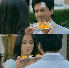 Jab tak hain jaan Best Bollywood Movies, Katrina Kaif, Shahrukh Khan, King, Club, Beautiful, Woman, Amor, Celebs