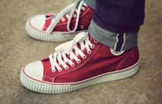 pf flyers red