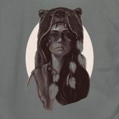 Chiefs Daughter - Unisex Fleece Zip Hoodie by American Apparel