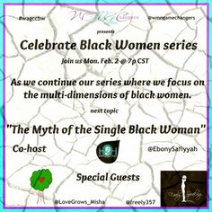 I been invited along with two other women @ebonysafiyyah  to participate in a Twitter Chat, entitled the 'Myth of the Single Black Woman' facilitated by  @womenaregamechangers.  To prepare for this chat, I inquired with a #diverse group of colleagues and #friends and posed the following the question, 'In your opinion/experience or observation, how are #single #women age 30 and older viewed in your community/culture?' I received a range of responses from #BuenosAires, #Romania, #Malawi, women…