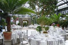 Michigan Wedding Venue- The Planterra Conservatory is a unique venue, offering a glass-enclosed botanical garden setting for wedding ceremonies and receptions,