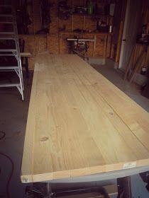 I love butcher block! ...Just beachy: How I built a DIY wood counter top