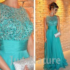 vestido longo azul tiffany - Pesquisa Google