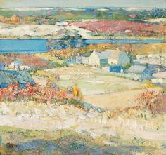 The Athenaeum - Landscape (Richard Edward Miller - No dates listed)