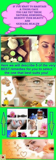 If You Want To Maintain a Young Face You Can Try These Natural Remedies, Benefit Your Beauty and General Health